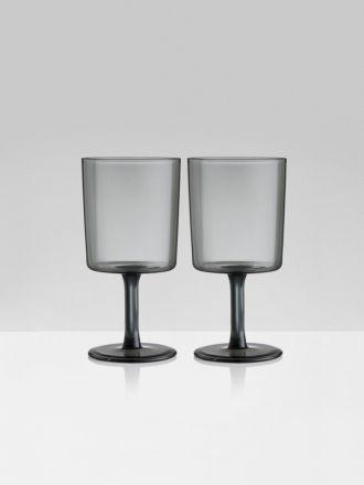 Wine Glasses Set of 2 by Maison Balzac - Smoke