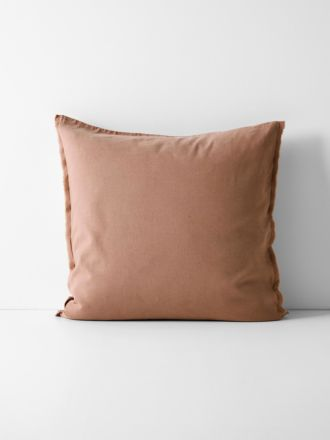 Maison Fringe European Pillowcase - Clay