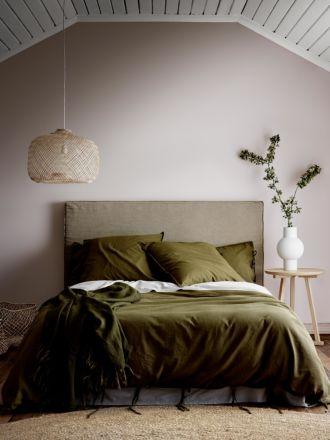 Maison Vintage Quilt Cover - Khaki