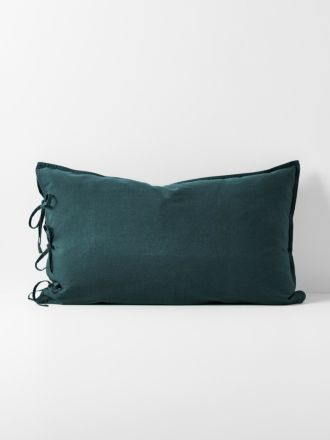 Maison Vintage Standard Pillowcase - Indian Teal