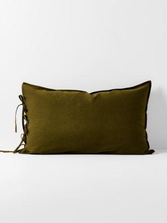 Maison Vintage Standard Pillowcase - Khaki