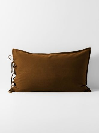 Maison Vintage Standard Pillowcase - Tobacco
