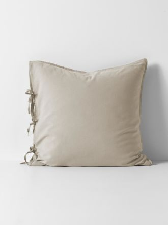 Maison Vintage European Pillowcase - Natural