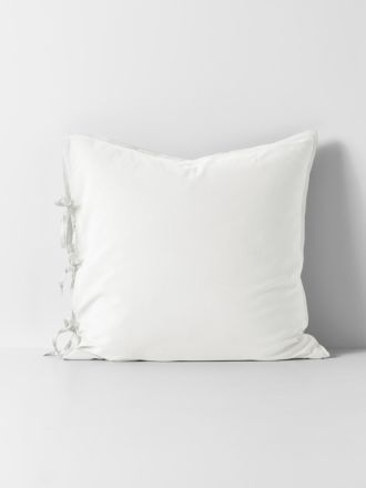 Maison Vintage European Pillowcase - White
