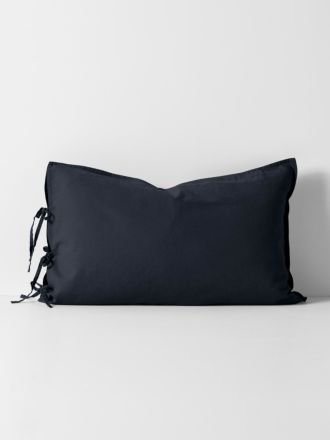 Maison Vintage Standard Pillowcase - Ink
