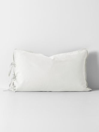 Maison Vintage Standard Pillowcase - White