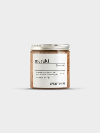 Linen Dew Walnut Body Scrub by Meraki