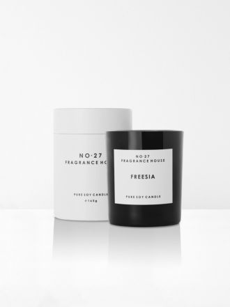 Freesia Scented Candle by No 27 Fragrance House