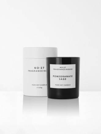 Pomegranate Sage Scented Candle by No 27 Fragrance House