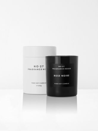 Rose Noire Scented Candle by No 27 Fragrance House