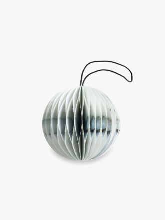 Paper Christmas Decoration - Marble Bauble