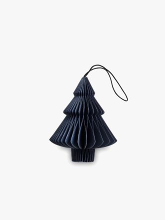 Paper Christmas Decoration - Midnight Blue Tree