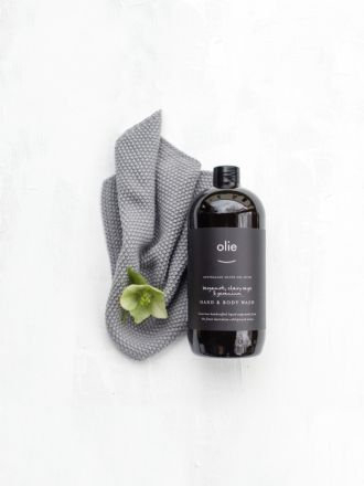 Bergamot & Clary Sage Hand & Body Wash Refill by Olie