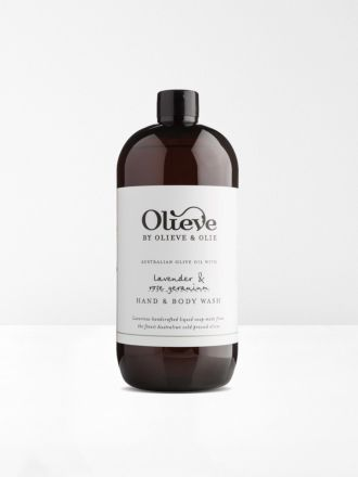 Lavender Hand & Body Wash 1 litre Refill by Olieve