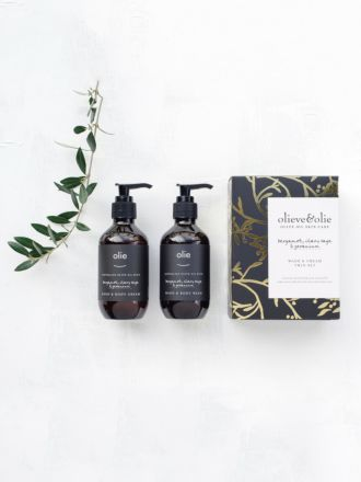 Hand Wash & Body Cream Gift Pack by Olie
