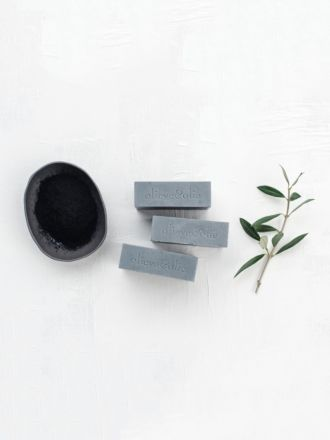 Bergamot & Charcoal 3 Pack Soap by Olieve