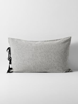 Oxford Standard Pillowcase - Black