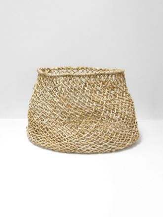 Cicely Wide Woven Basket Large