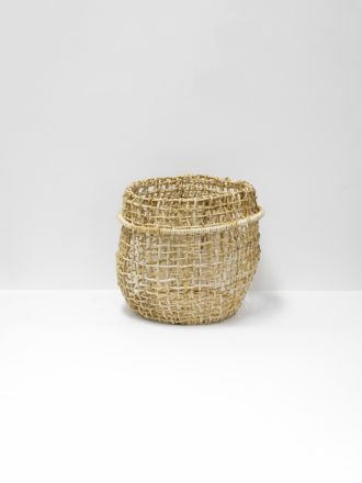 Cicely Tall Woven Basket Small
