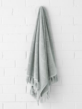 Paros Bath Towel - Limestone
