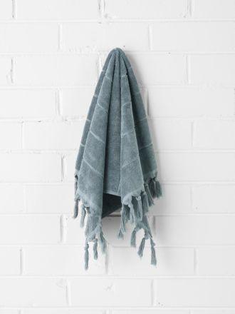 Paros Hand Towel - Eucalypt