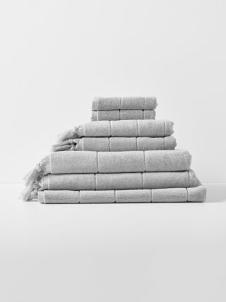 Paros Bath Towel Set - Dove