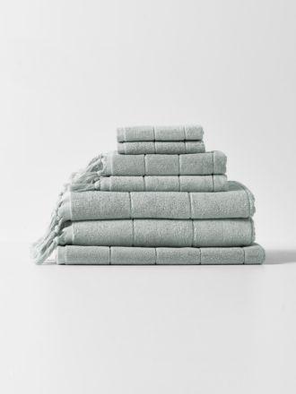 Paros Bath Towel Set - Limestone