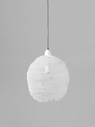 Ball Lamp - White