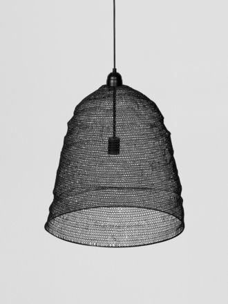 Cone Lamp Large - Black