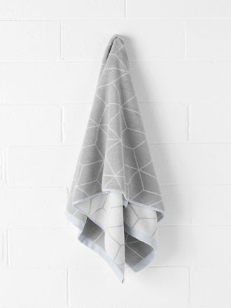 Sine Bath Towel - Dove