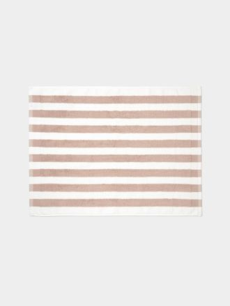 Stripe Bath Mat - Blush