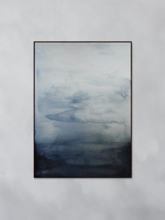 Blue Waters Art Print by Trine Holbaek
