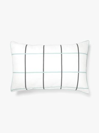 Verve Standard Pillowcase - Glacier