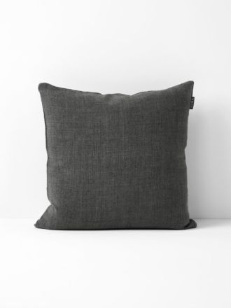 Vintage Linen Cushion - Flint
