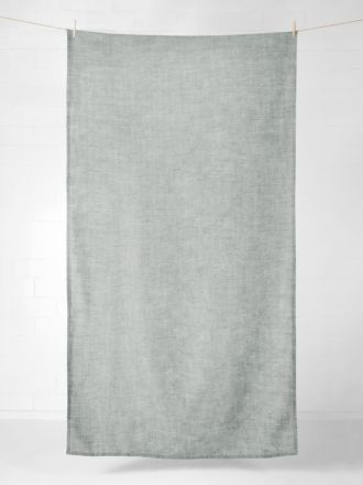 Vintage Linen Tablecloth - Limestone