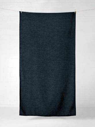 Vintage Linen Tablecloth - Slate