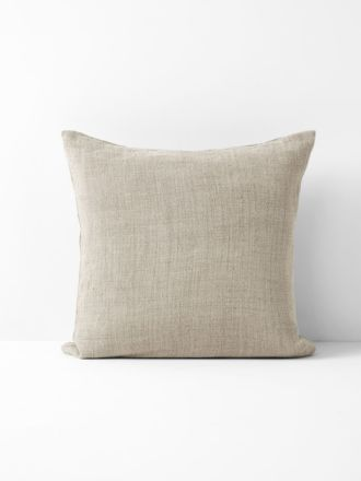 Vintage Linen Cushion - Natural