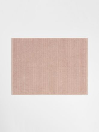 Vintage Stripe Bath Mat - Pink Clay