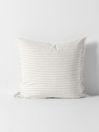 Vintage Stripe European Pillowcase - Mink
