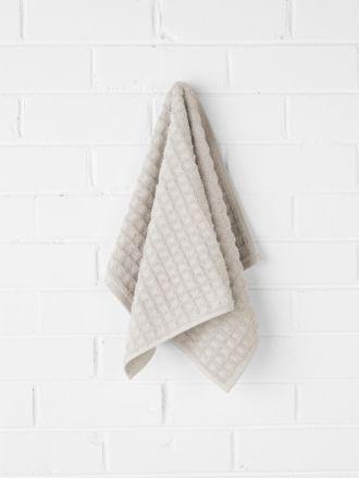 Waffle Hand Towel - Natural