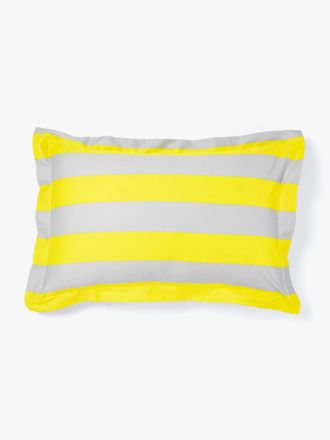 Wide Stripe Standard Pillowcase