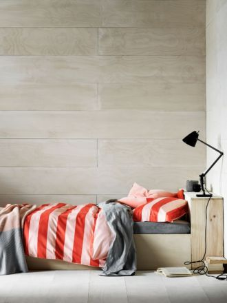 Wide Stripe Quilt Cover