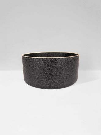 Charred Embers Bowl Planter Large by Zakkia