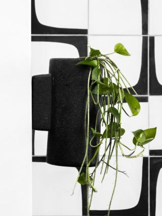 Charred Embers Wall Planter Small by Zakkia