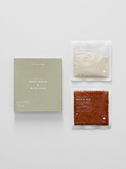Australian Native Body Scrub & Bath Soak Set by Addition Studio