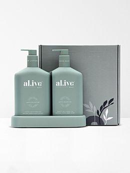 Kaffir Lime & Green Tea Duo by Al.ive