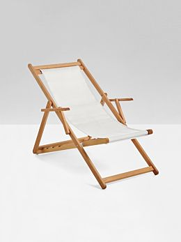 Raw Beppi Sling Chair by Basil Bangs - Pick up only