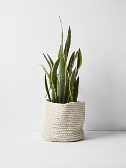 Crochet Basket - Extra Large