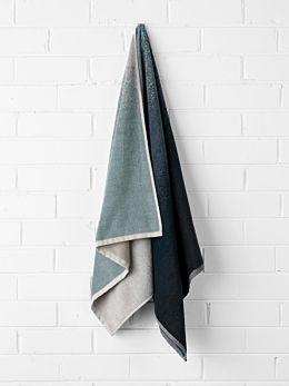 Eclipse Bath Towel - Indigo