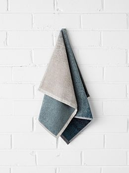 Eclipse Hand Towel - Indigo